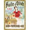 Poster 30x40 - Huile d'Olive de Nice
