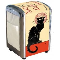 Distributeur de serviettes - Tournée du Chat noir