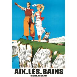 Affiche 50x70 - Golf d'Aix les Bains