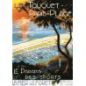 Affiche 50x70 - Vue sur le Touquet