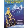 Affiche 50x70 - Le Bettex Vélo Maillot Jaune