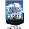Affiche 50x70 - Vichy Ville d'Eau Éternelle
