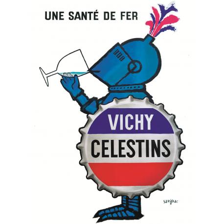 Affiche 50x70 - Vichy Celestins