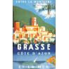 Affiche 50x70 - Grasse entre Montagne et Mer