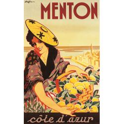 Affiche 50x70 - La Fête du Citron à Menton