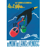 Affiche 50x70 - Téléphérique Chocard aux Deux Alpes