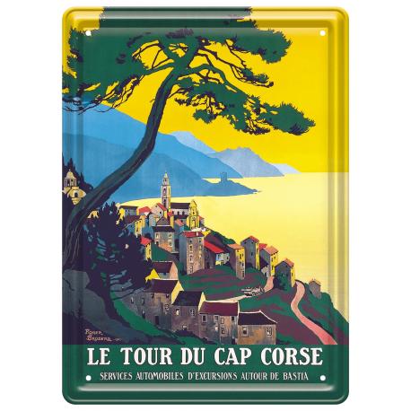 Plaque métal 15x21 - Le Tour du Cap
