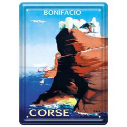 Plaque métal 15x21 - Bonifacio