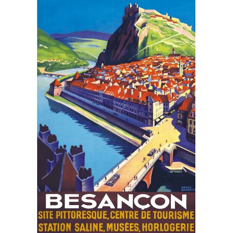 Affiche 50x70 - Vue sur Besançon