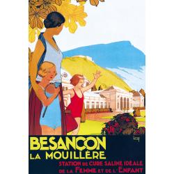 Affiche 50x70 - Cure à Besançon