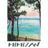 Affiche 50x70 - Mimizan en Peinture