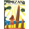 Affiche 50x70 - Surf à Mimizan