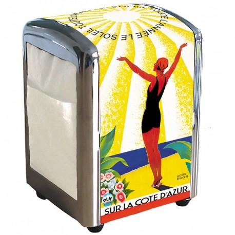 Distributeur de serviettes - Soleil toute l'année - Côte d'Azur - PLM