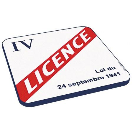 6 dessous de verres - Licence IV