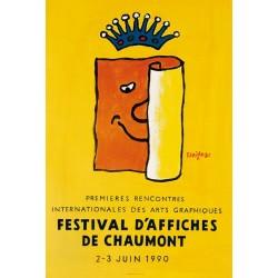 Affiche - Festival d'affiches de Chaumont (rupture définitive)