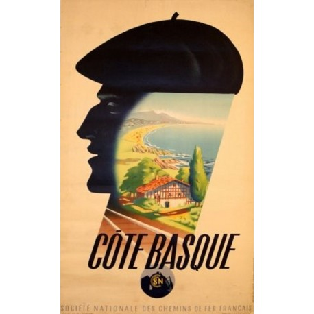 Affiche - Côte Basque