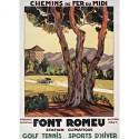 Affiche - Station climatique de Font-Romeu (rupture définitive)