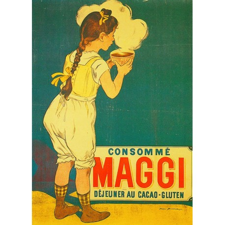 Affiche - Bol fumant (fin de série) - Maggi