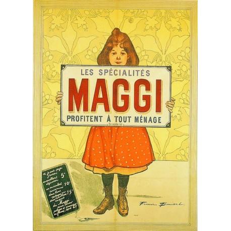 Affiche - Spécialités (fin de série) - Maggi