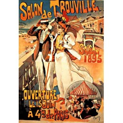 Affiche - Salon de Trouville