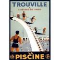 Affiche - La piscine de Trouville (rupture définitive)