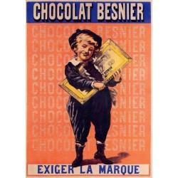 Affiche - Garçon (fin de série) - Chocolat Besnier