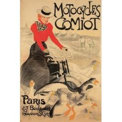 Affiche - Oies (fin de série) - Motocycles Comiot