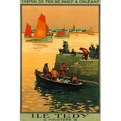 Affiche - L'Ile Tudy (fin de série) - Compagnie PO