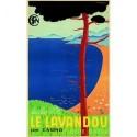 Affiche - Lavandou - Paysage (rupture définitive)