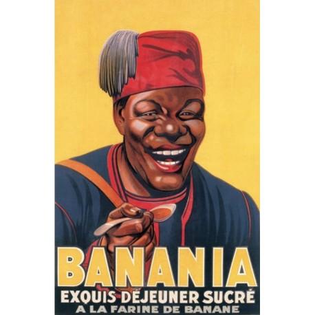 Affiche - Buste (fin de série) - Banania