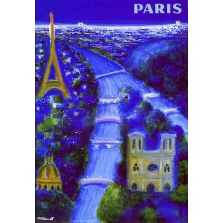 Affiche - Paris (fin de série) - Ville de Paris