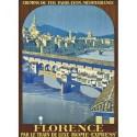 Affiche - Florence - Ponte Vecchio (rupture définitive)