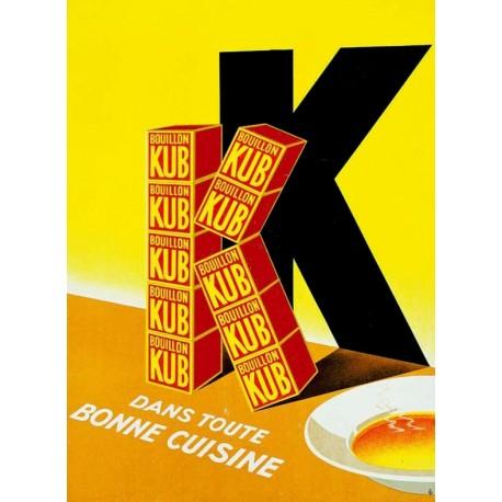 Affiche - Grand K (fin de série) - Bouillon Kub