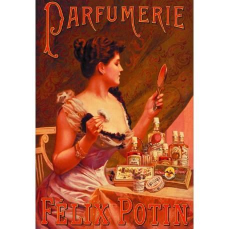 Affiche - Parfumerie (fin de série) - Félix Potin
