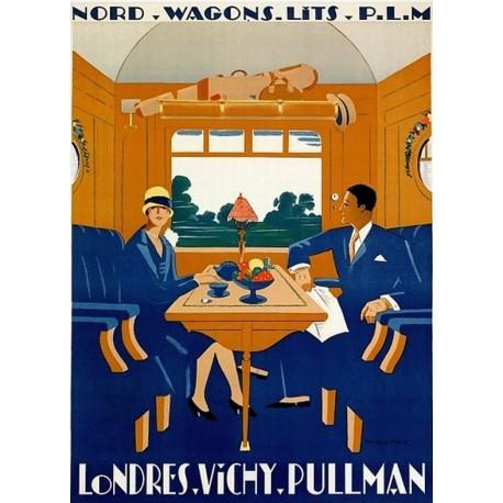 Affiche - Wagon-lit (fin de série) - Pullman