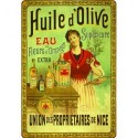 Affiche - Huile d'olive tête nue (rupture définitive)