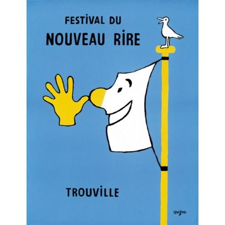 Affiche - Drapeau (fin de série) - Festival du nouveau rire