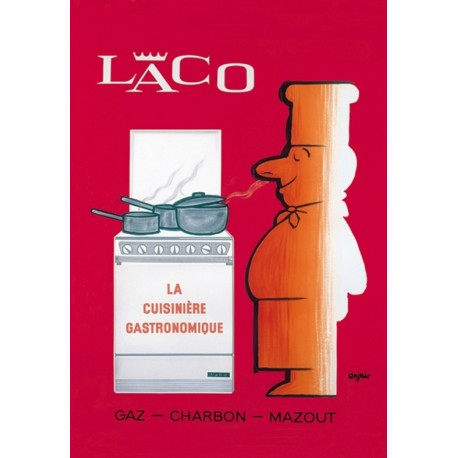 Affiche - La cuisinière gastronomique (fin de série) - Laco