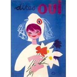 Affiche - Dites oui (rupture définitive)