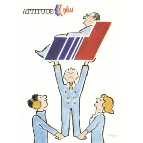 Affiche - Attitude plus (fin de série) - Air France