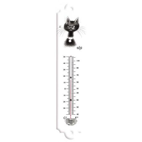 Thermomètre - La mouche - Chats Dubout