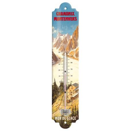 Thermomètre - La Mer de Glace - Chamonix - PLM