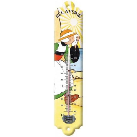 Thermomètre - Sous le soleil (fin de série) - Bécassine