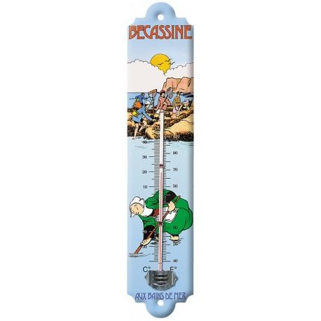 Thermomètre - Bains de mer (fin de série) - Bécassine