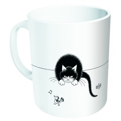 Mug - Oiseau siffleur - Chats Dubout