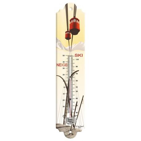 Thermomètre - Le téléphérique de Megève (fin de série) - PLM