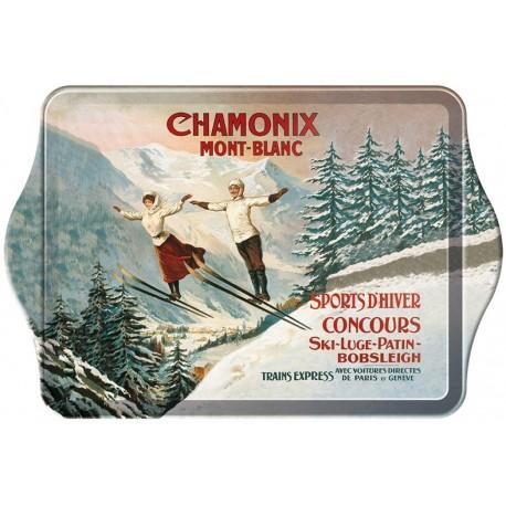Vide-poches - Les deux sauteurs - Chamonix - PLM
