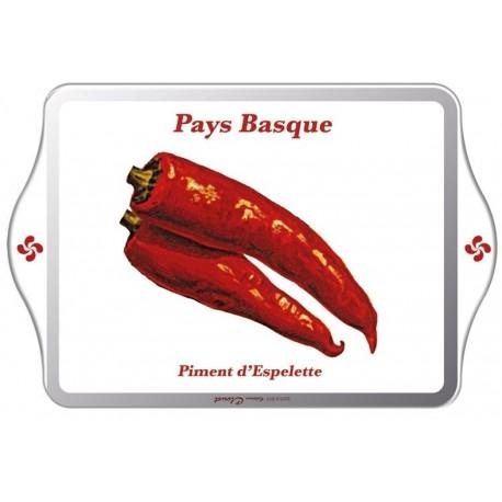 Vide-poches - Pays basque - Piment d'Espelette