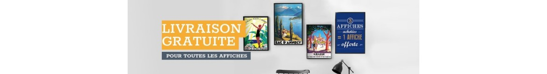 Affiches touristiques